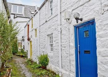 Blue Door in Kirkcudbright