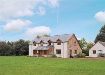 Criftin Farmhouse in Wentnor, near Bishops Castle