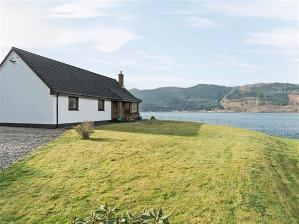Loch Duich Cottage, Inverinate, by Kyle, Ross-shire., Scotland