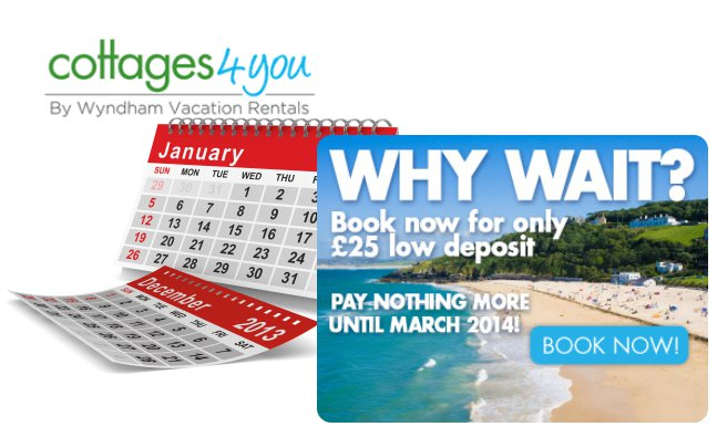 Cottages 4 You   2014 Holidays. Book Early For The Best Deal.