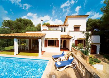 Villa holidays in Baskins, Spain.