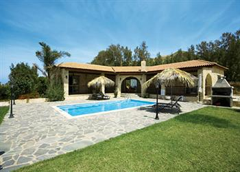 Villa Lianti Cyprus Map