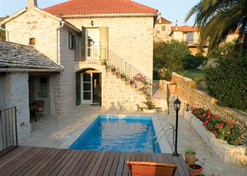 Maruka, Mirca, Brac, Dalmatia, Croatia With Swimming Pool