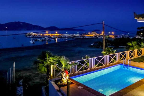 Villa Agios Sostis Bay View, Laganas, Zakynthos With Swimming Pool