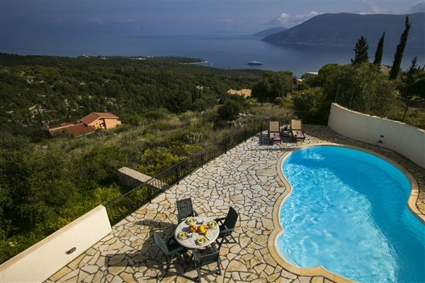 Villa Aramis, Fiskardo, Kefalonia With Swimming Pool