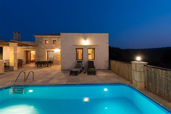 Villa Asterion, Rethymnon, Crete With Swimming Pool