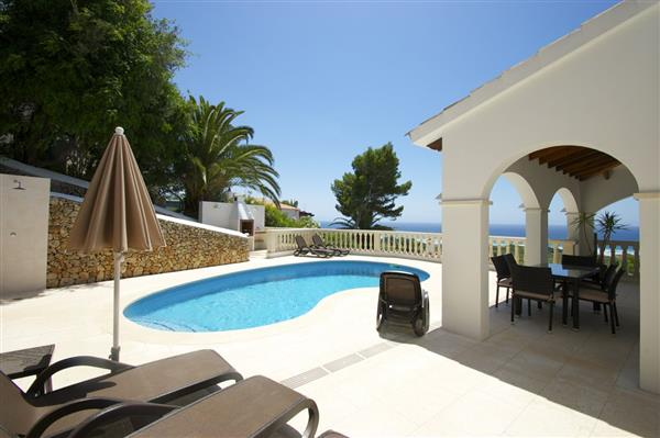 Villa Bellamirada, Son Bou, Menorca With Swimming Pool