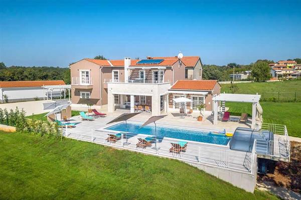 Villa Belle, Svetvincenat, Istria With Swimming Pool