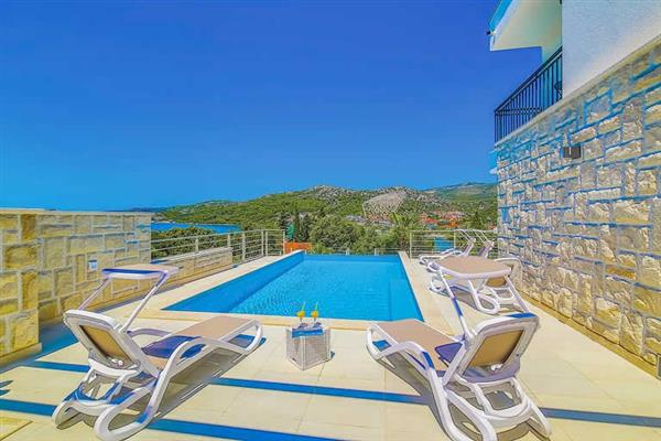 Villa Harbour View, Trogir, Split Region With Swimming Pool