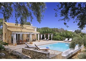Villa Ricco on Corfu