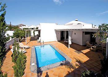Villa Teanne in Puerto del Carmen on Lanzarote