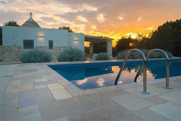Villa Trullo Elena, Carovigno, Puglia With Swimming Pool