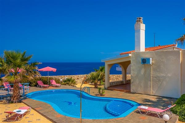 Villa Zantre, Chania, Crete With Swimming Pool