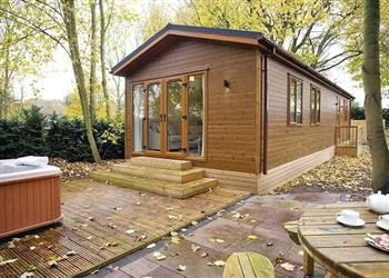 Relax in your Hot Tub with a glass of wine at Jamies Cragg Holiday Park