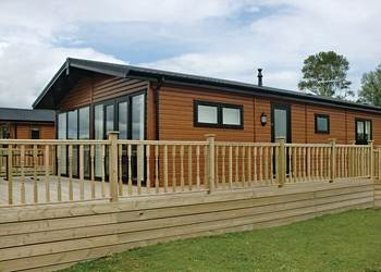 Fantastic lodges at Tallington Lakes Leisure Park