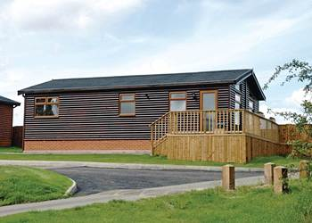 Lay in a Hot Tub at Weston Wood Lodges