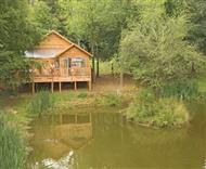 Henlle Hall Woodland Lodges in Henlle, Oswestry