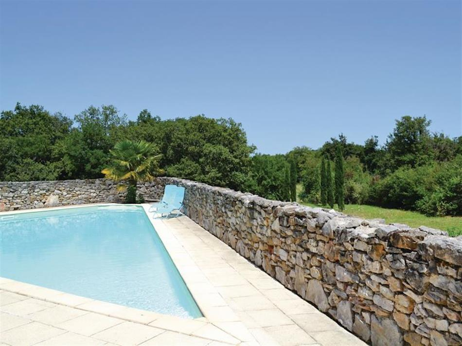Swimming pool at Les Vieux Cottages - Le Vieux Cottage 2, Padirac, Dordogne and Lot
