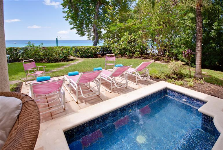 Swimming pool at Villa Laticia, St James, Barbados