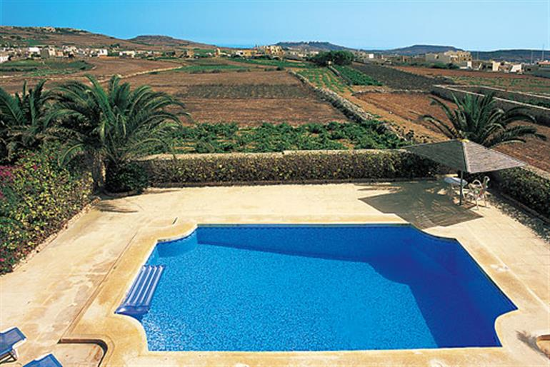 Villa Narcis Ref 375 In Malta Gozo With Swimming